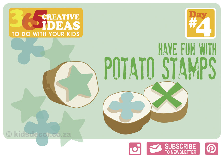#4 Potato Stamps